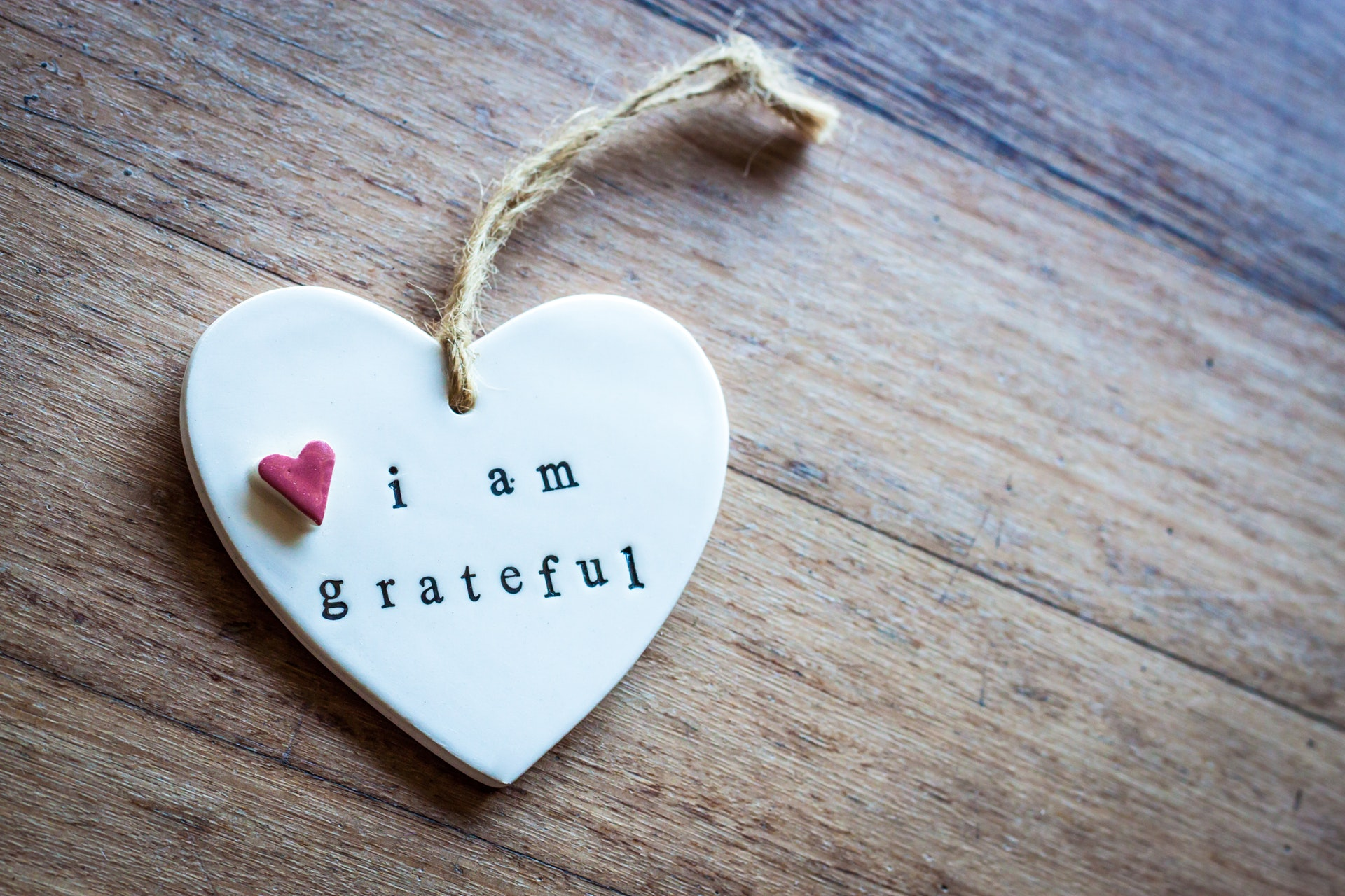 Gratitude thankful heart