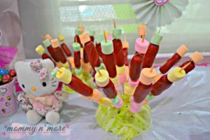 Hello Kitty and Hotdogs in a cabbage