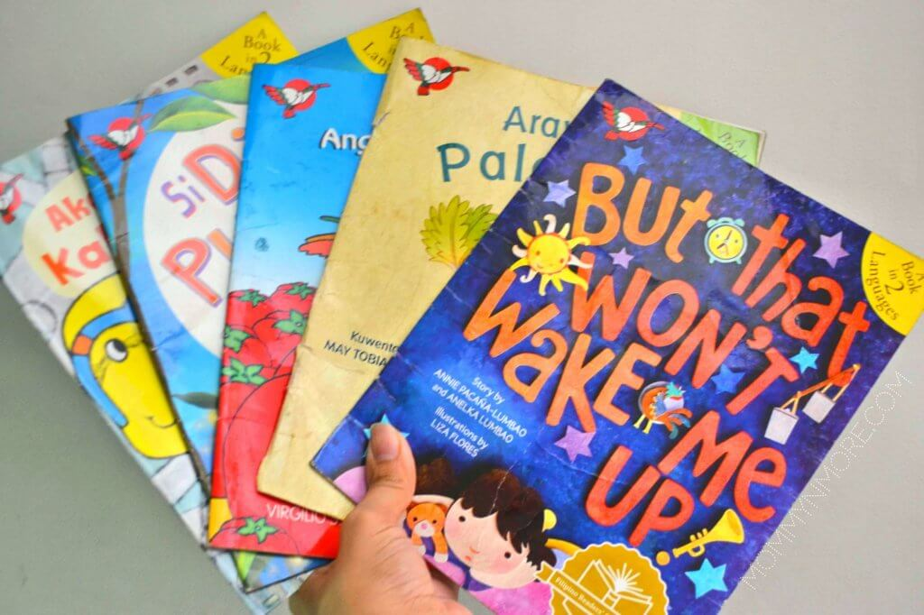 Adarna books in 2 languages