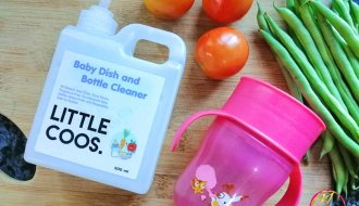 Little Coos Baby Bottle Cleaner