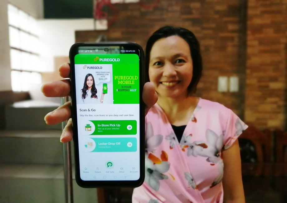 Sally Puregold Mobile App